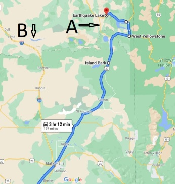 driving test route 1